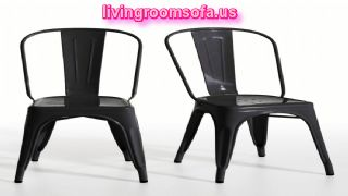 Modern Differet Black Chaises Design Ideas
