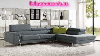 Modern Fabric Sectional Sofas For Livingroom