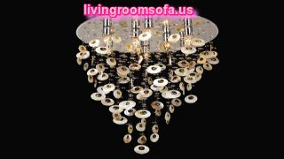 Modern Fringed Big Living Room Lamps