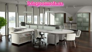Modern White Contemporary Italian Office Furniture