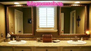 Nickel Bathroom Wall Mirrors Brushed