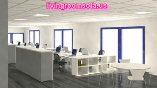 Open Space Modern Office Interior Decor