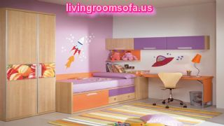 Pattern Carpet And Cabinet For Bedrooms For Kids