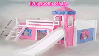 Pink Blue Castle Slide