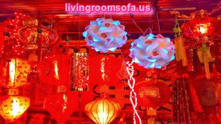Plastic Big Living Room Lamps