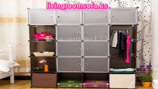 Portable Cabinet Wardrobe Variety Cabinet