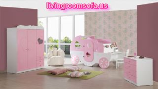 Princess Baby Bedroon Furniture Design Ideas