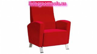 Red Decorative Chairs For Living Room