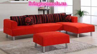 Red Contemporary Sofas