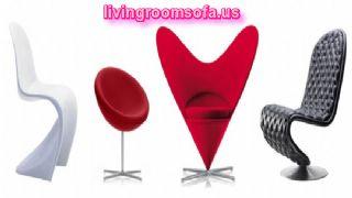 Red White Black Modern Chaises Design Ideas