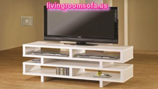 Remarkable White Modern Tv Stands For Flat Screens With Wooden Floor Ideas