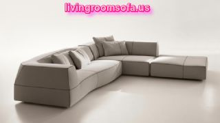 Sectional Sofas Furniture Design Bend Patricia Urquiola For Italia White