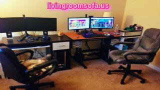 Shared Game Room Ideas With Ergonomic Swivel Chairs