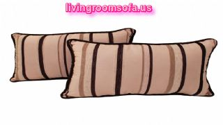 Sherry Kline Melody Stripe Boudoir Pillows Set