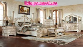 Sleigh Bedroom Set Queen With Wooden Furniture Sets