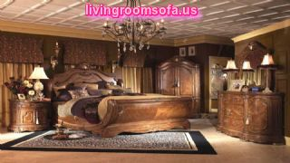 Teak Wood Furniture And Ornate Chandelier Classic
