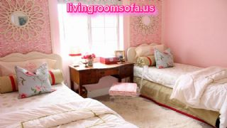 Twin Girls Bedroom Design