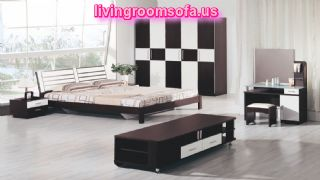 Unique Decoration Modern Panel Bedroom Sets