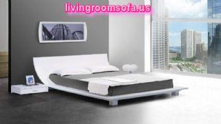 Unique Design Modern Bedroom Sets White Interior