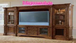 Universal Furniture  Tv Deck Right Left Book Case