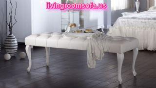 Victoria Bedroom Settee Bench Design Ideas