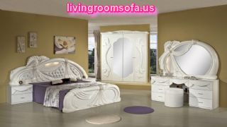 White And Classic Italian Bedroom Furniture