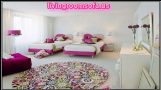 White And Pink Twin Beds For Girls And Comfortable