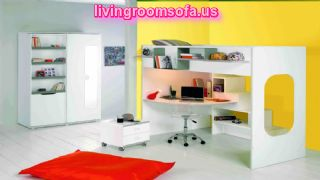 White And Yellow Contemporary Furniture Kids