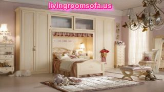 White Unique Bedroom Furniture For Girls
