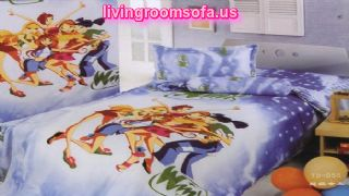 Winx Club Super Girls Lavender Bedroom Bed In A Bag