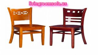 Wood Chairs Oak Cherry