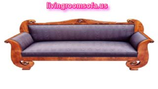 Wooden Antique Bench Design Idea