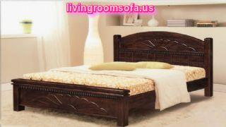 Wooden Bed Unique Floor Lamp Unique Bed Frames