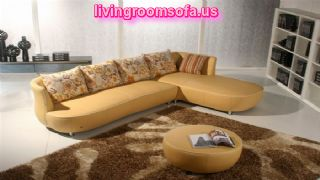 Yellow And Modern Contemporary Leather Sofas Italian