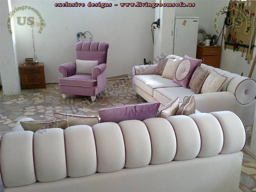 Avant Garde Living Room Sofa Set Design - Exclusive Design Ideas