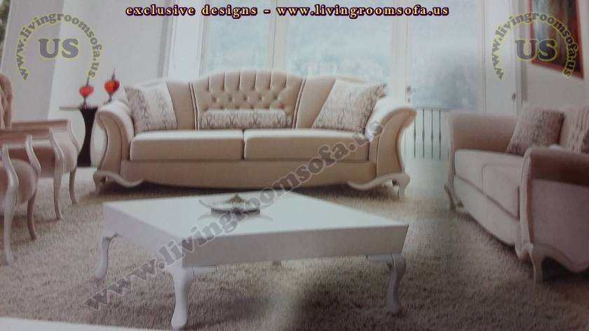 Elegance Avant Garde Sofa Set Exclusive Living Room Sofas