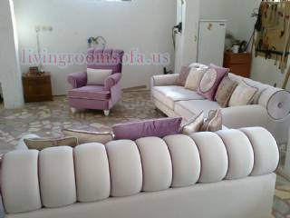 Avant Garde Living Room Sofa Set Design