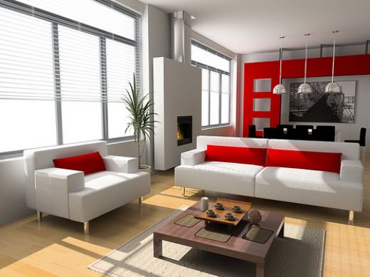Modern  Home Interior Design Modern living room design