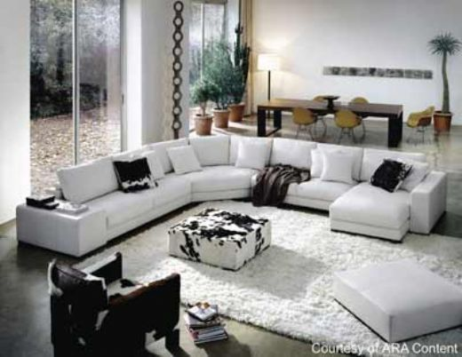 Sectional Sofa, Italian Design, Natuzzi