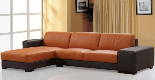 Sectional Leather Sofa, Leather Livingroom Sofa, Corner