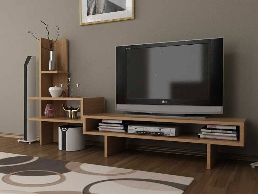 Basic Modern TV Stand Cool Small TV Stand for small spaces