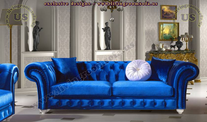 Chesterfield Sofas, Custom Upholstered Handmade Designs