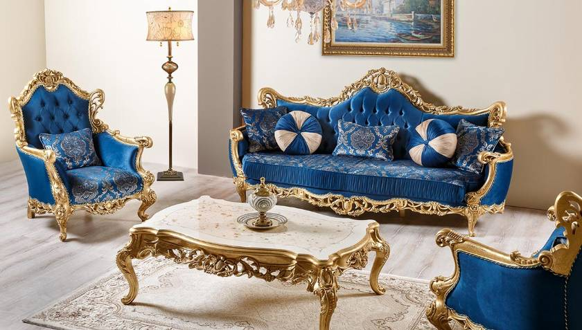 Classic Furniture Sofa living room Elegance luxury interior design