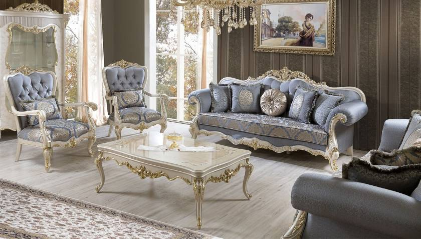 Classic living rooms high-quality and luxury Italian living rooms