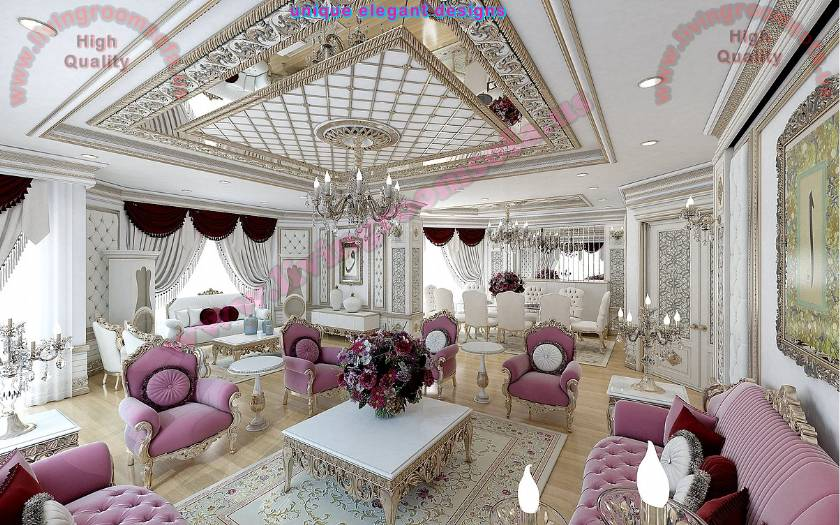 Classical Luxurious Living Room Design The best in 2018