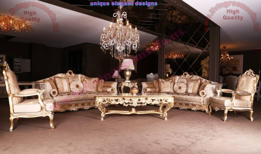 Comfortable Fabulous Traditional Sofa Set gorgeous Living Room design