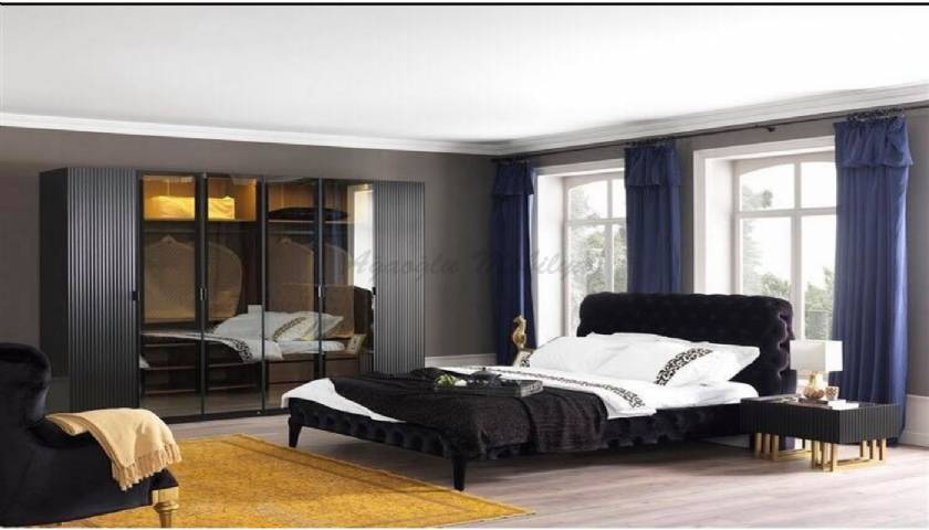 Contemporary Upholstered Beds luxury bedroom furniture