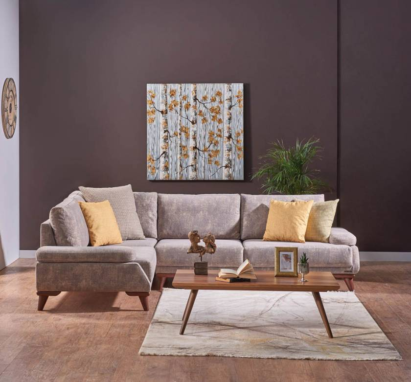 Corner Sofa sor Small Spaces Gray Modern New Style