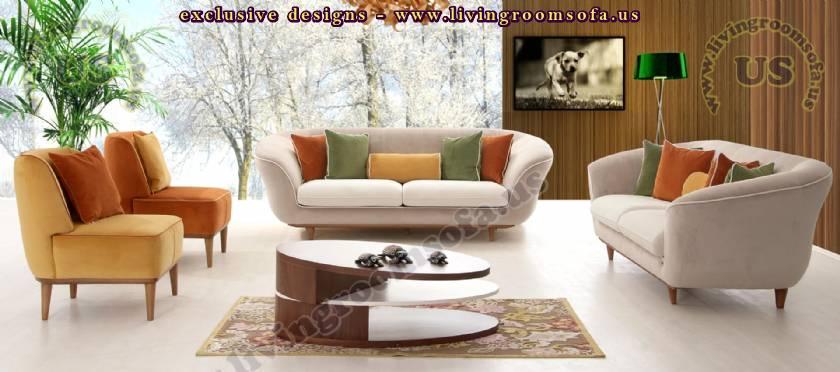 European design modern sofa set modern livingroom sofa for European living room designs