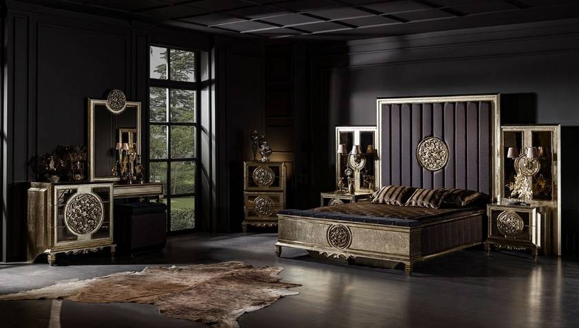 Dallas Royal Luxury Modern Bedroom Furniture Set Perfectly Design Exclusive Design Ideas